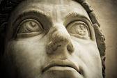 Head of emperor Constantine, Capitol, Rome — Stock Photo