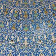 Stock Photo: Dome of the mosque, oriental ornaments from Isfahan, Iran