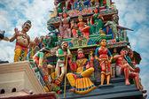Sri Mariamman Temple, Singapore's oldest Hindu temple — Stock Photo