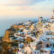 Stock Photo: Oivillage at Santorini island, Greece