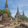 Stupas of Wat Si Sanphet, Ayutthaya, Thailand — Stock Photo #9605079