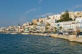 Panorama of Naxos, Cyclades, Greece — Stock Photo