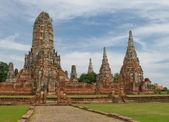 Wat Wattanaram, Ayutthaya, Thailand — Stock Photo