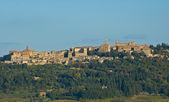 Medieval town of Montepulciano, Tuscany, Italy — Stock Photo