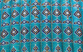 Tiled background with oriental ornaments — Stock fotografie