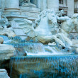 Trevi fountain, rome, italy — Stock Photo