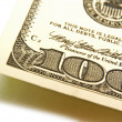 100 dollar bill — Stock Photo