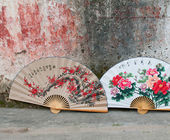 Traditional chinese fans — Stock Photo