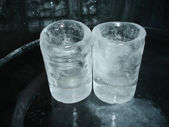 Ice glasses — Stock Photo