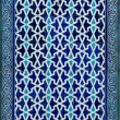 Tiled background, oriental ornaments from Uzbekistan Tiled backg — Stock Photo #9892726
