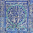 Tiled background with oriental ornaments — Stock Photo #9892827