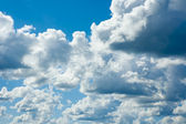 Cloudy sky background — Stock Photo
