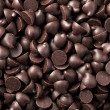 Chocolate chips background — Stock Photo #9479140