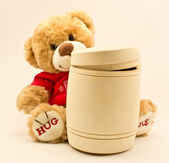 Toy a bear — Foto Stock