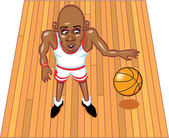 Basketballer — Stock Vector