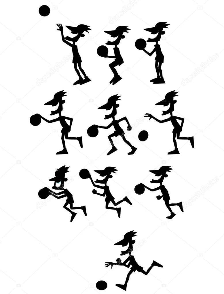 animated basketball black and white u2013 images free download