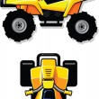 Stock Vector: All Terrain Vehicle