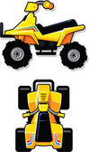 All Terrain Vehicle — Stock Vector