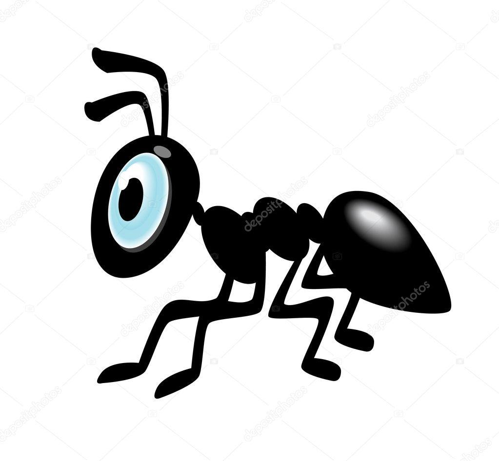 ant cartoon icon stock vector  u00a9 kk inc 9470103 glasses vector png glasses vector illustrator