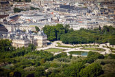 Luxembourg Palace from above — Stock Photo