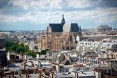 Saint Eustache church paris — Stock Photo