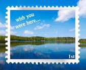 """Wish you were here"" — Stock Photo"