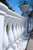 Concrete balustrade — Stock Photo