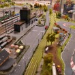 Model of the railway - Stock Photo