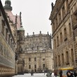 Historical center of city Dresden — Stock Photo