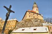 Castle of Krumlov, Czech Republic — Stock Photo