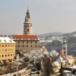 Viewing platform of Krumlov, Czech Republic — Stock Photo
