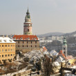Stock Photo: Viewing platform of Krumlov, Czech Republic