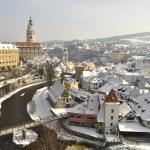 The historic city of Cesky Krumlov — Stock Photo