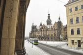 Winter in Dresden — Stock Photo