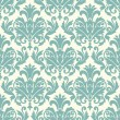 Damask wallpaper pattern seamless vector — Vector de stock