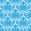 Damask wallpaper pattern seamless vector — Stock Vector