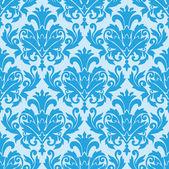 Damask wallpaper pattern seamless vector — Stockvektor
