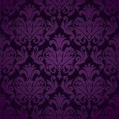 Damask wallpaper pattern seamless vector — Stock Vector