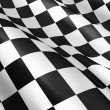 Stock Photo: Checkered flag