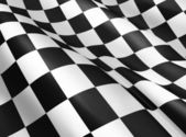 Checkered flag — Fotografia Stock