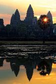 Reflexão de angkor wat — Fotografia Stock