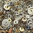 Different size washers — Stock Photo