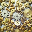 Different size cogwheels — Stock Photo