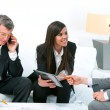 Business at meeting. — Stock Photo