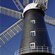 Heckington unique 8 sailed windmill — Stock Photo