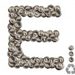 Stock Photo: Alphabet E