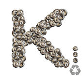 Alphabet K — Stock Photo