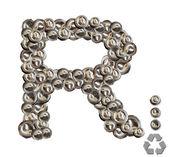 Alphabet R — Stock Photo
