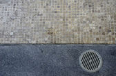 Floor drain — Stock Photo