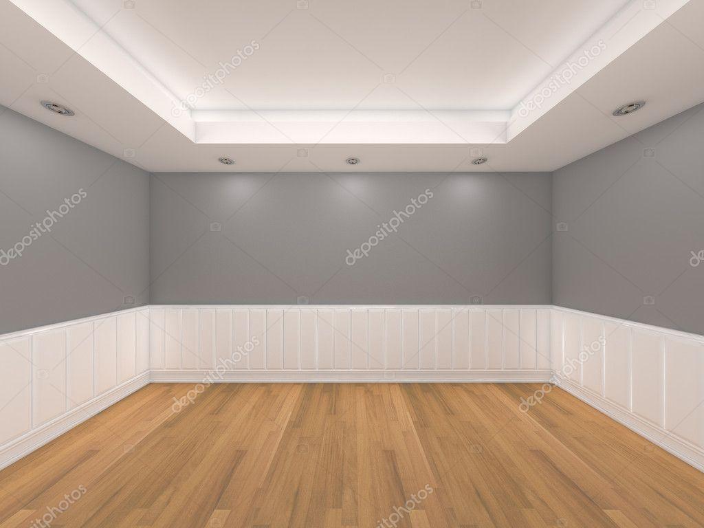 Dark Grey Wall Paint Oak Flooring